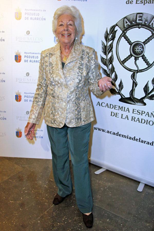 La abuela de Letizia Menchu Álvarez del Valle