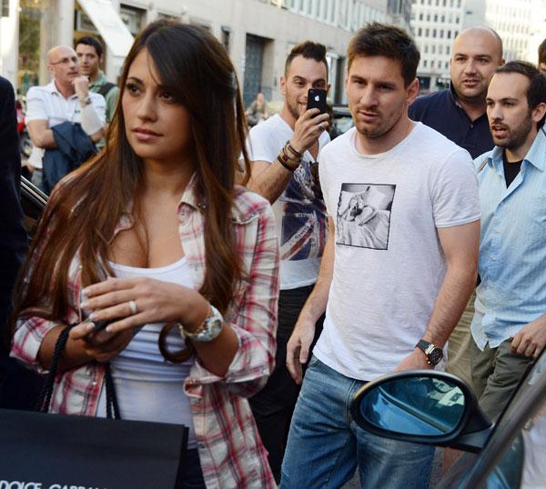 Messi en Milán