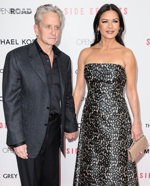 Michael-Douglas-y-Catherine Zeta Jones