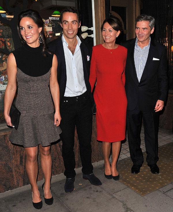 Kate Middleton-familia