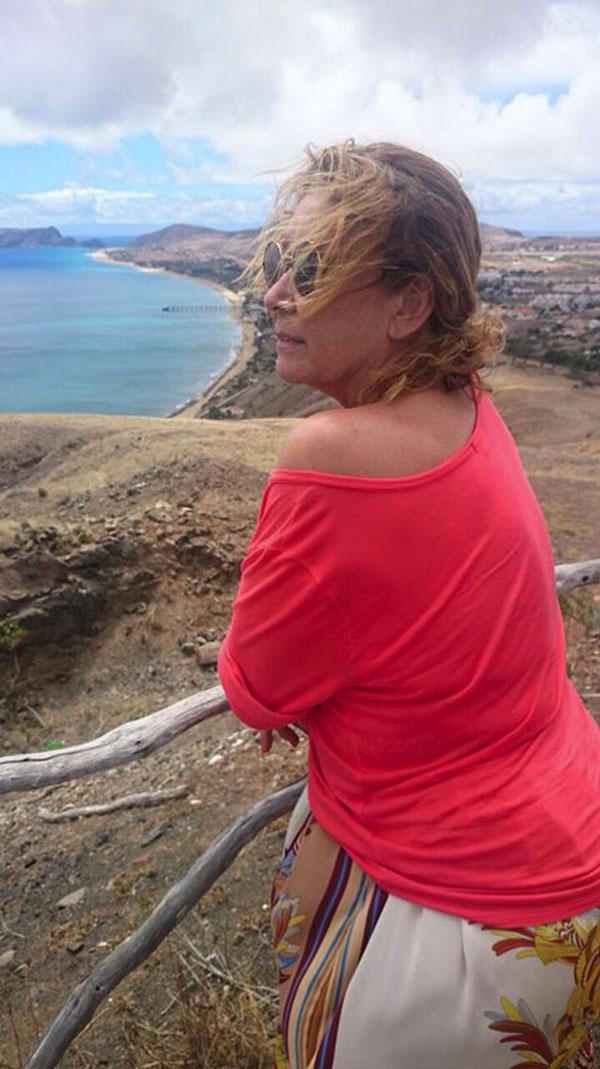 """Las vacaciones de Jorge Javier Vázquez en Porto Santo: """"Es una isla maravillosa"""" Mila-Ximenez-1"""