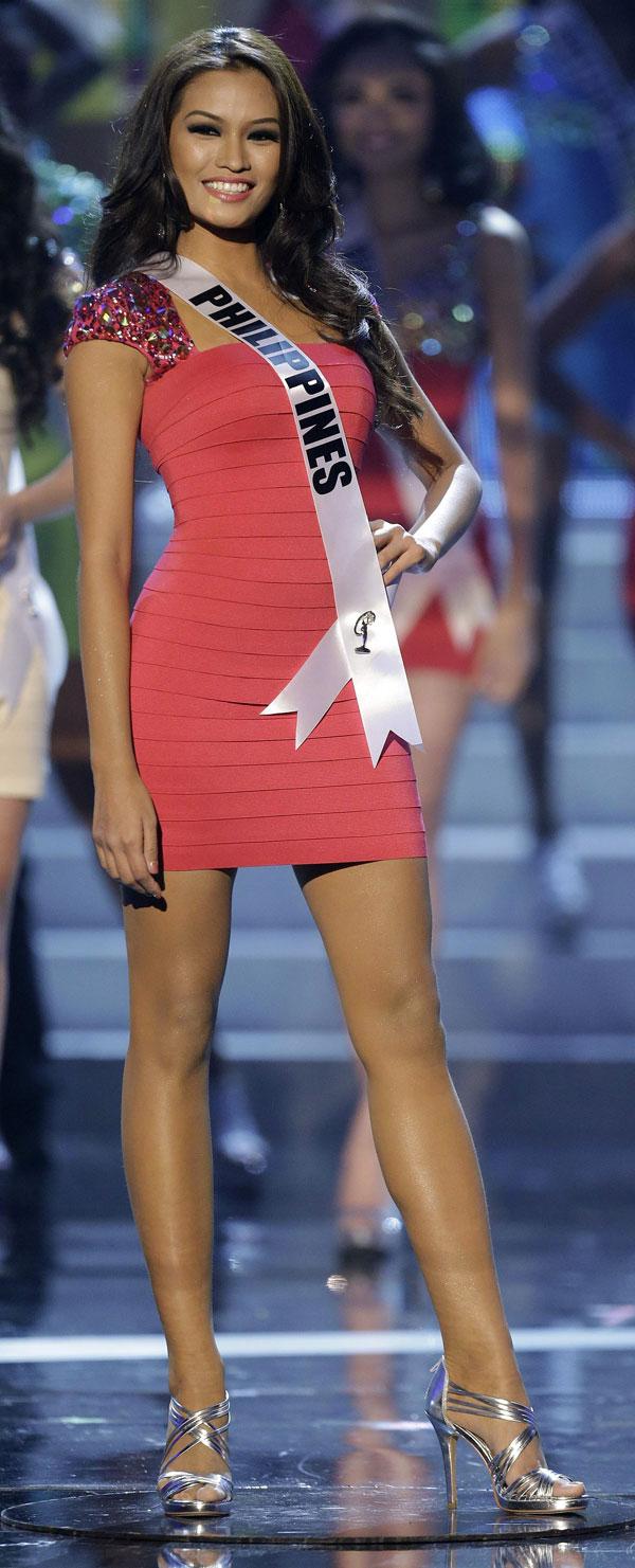 Miss-Filipinas-Primera Dama Miss Universo 2012