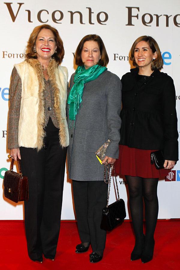 Ana Rodríguez, Natalia Figueroa y Alejandra Martos