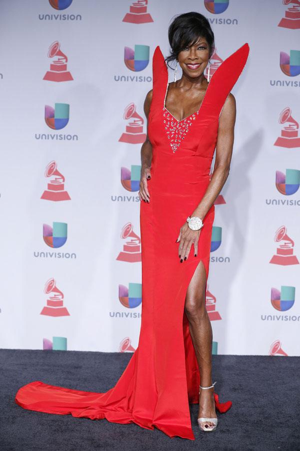 Natalie Cole en el show de la gala de los Premios Grammy Latinos 2013
