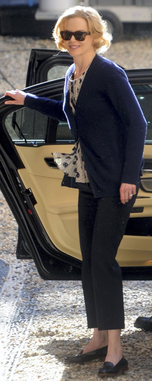 Nicole Kidman, una Grace Kelly en Roma