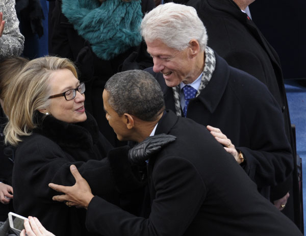 Obama-Hillary- Bill Clinton