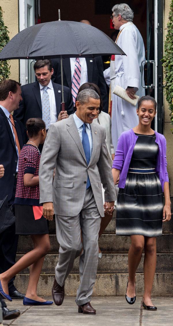 Familia Obama y la Pascua