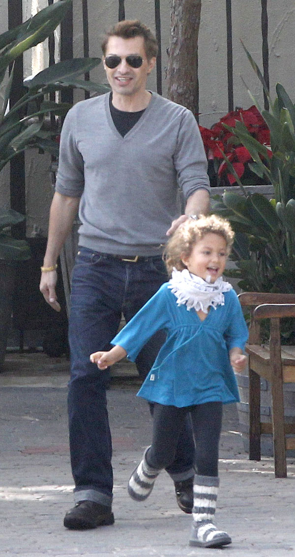 Olivier-Martinez-y-Nahla-en Hollywood