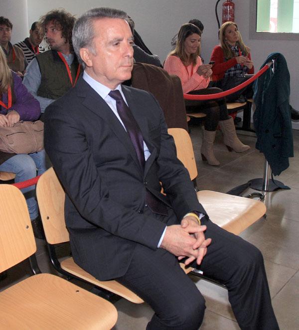 Ortega Cano en el último día de juicio en Sevilla