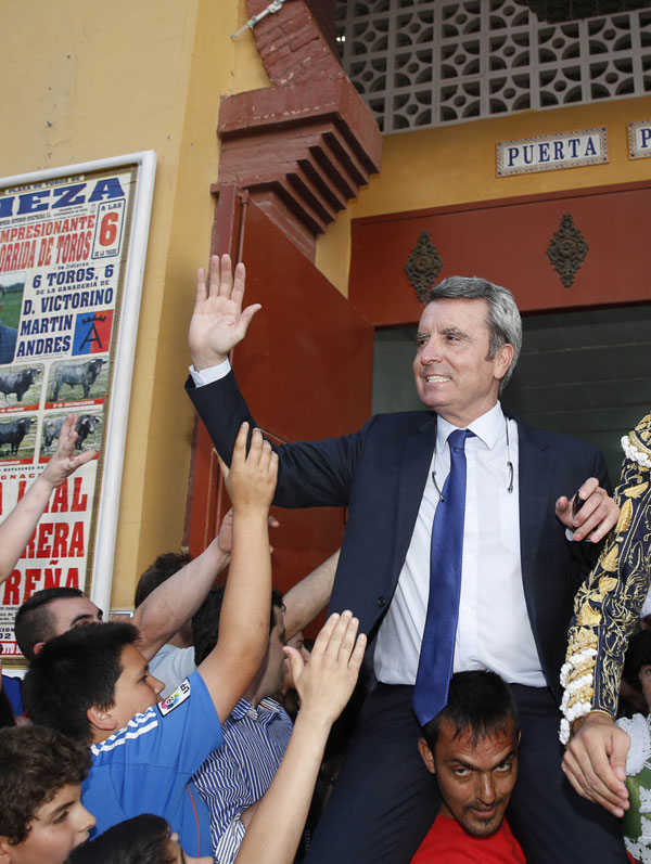 EL EX TORERO JOSE ORTEGA CANO DURANTE SU INGRESO EN LA PRISION DE ZUERA EN ZARAGOZA 23704/2014 ZARAGOZA