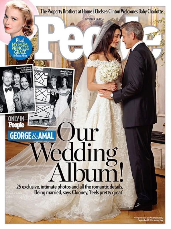 Oscar de la Renta vestido Amal Clooney