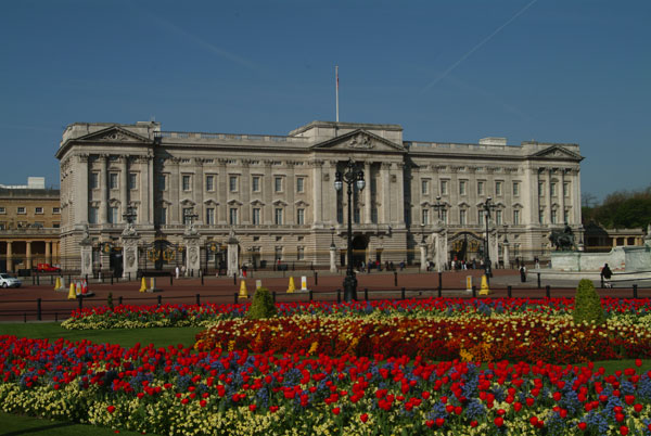 Buckingham Palace en el centro de Londres