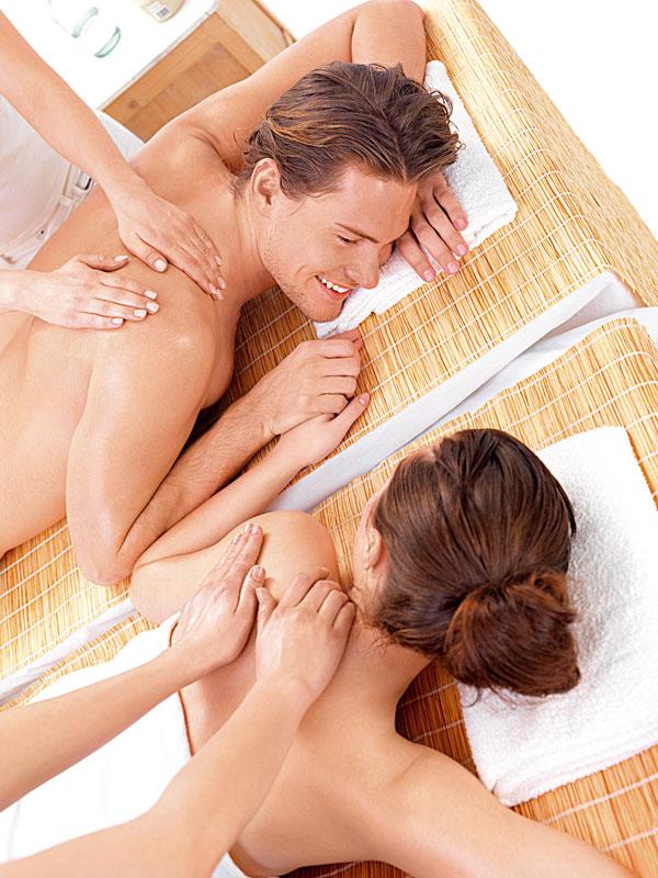 Pareja-masaje
