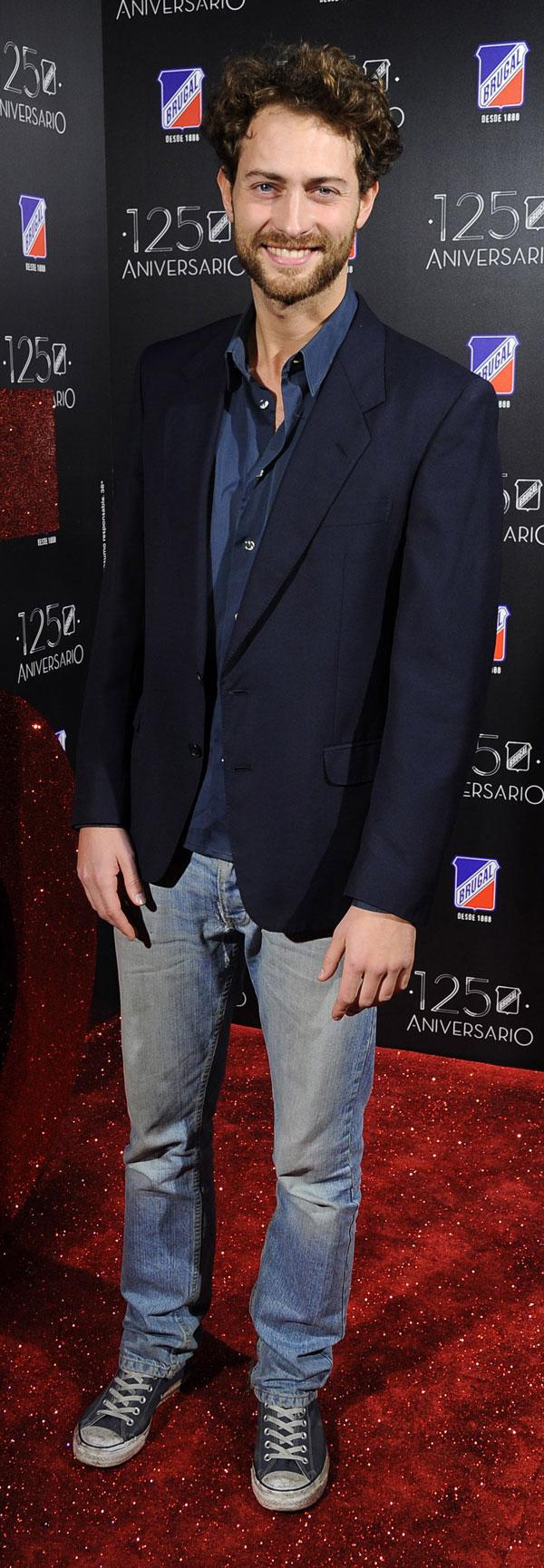 PETER VIVES DURANTE LA FIESTA DEL 125 ANIVERSARIO DE RON BRUGAL EN MADRID 04/12/2013 MADRID