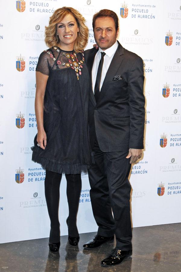 Luján Argüelles y Albert Castillón fueron los presentadores de la entrega de los Premios de la Academia de Radio