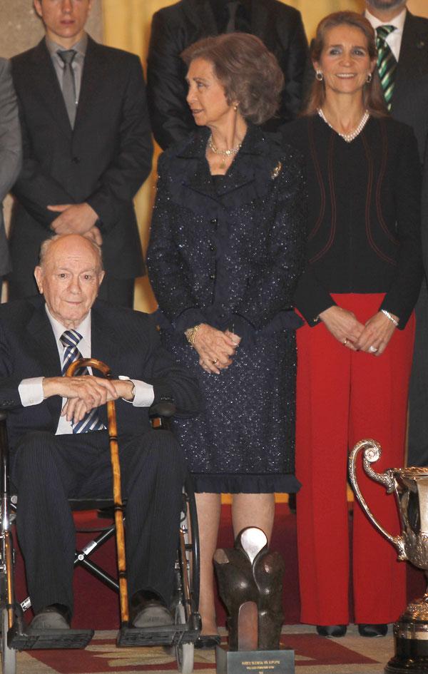 Reina, Infanta Elena, Alfredo Di Stefano