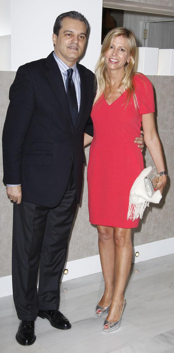 Ramón García y Patricia Cerezo en el Club Siglo XXI