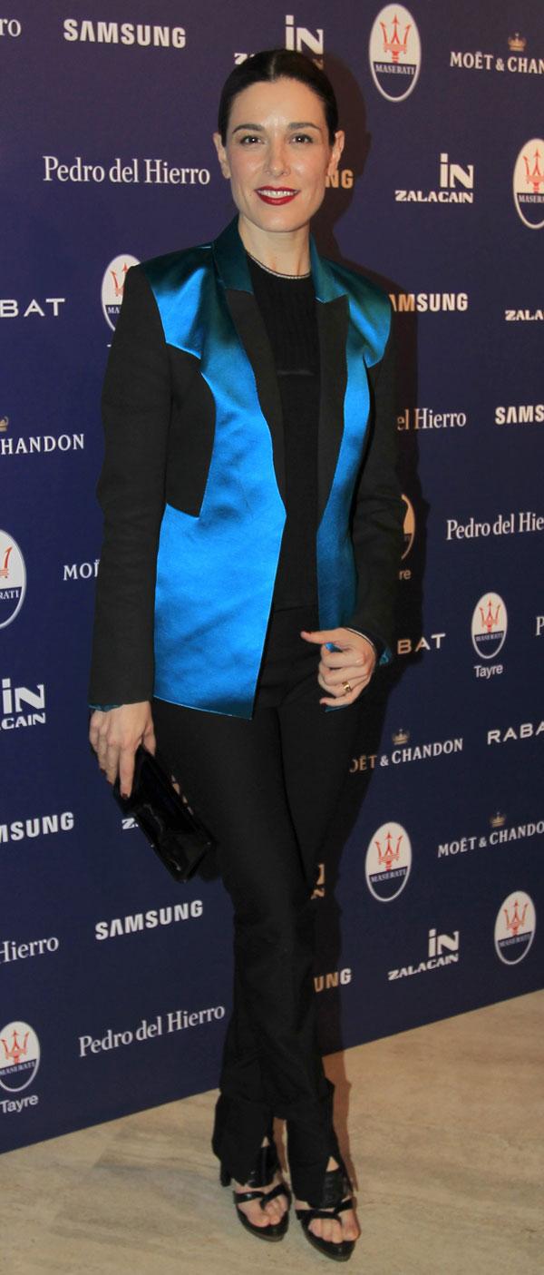 Raquel Sánchez-Silva en la presentación del nuevo Maserati