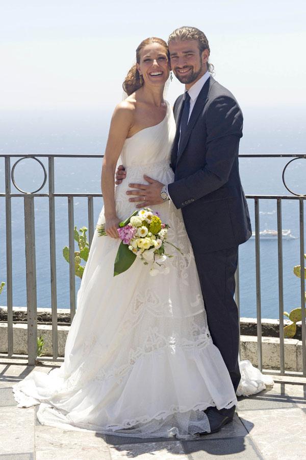 Raquel Sanchez Silva y Mario Biondo, el día de su boda en Taormina
