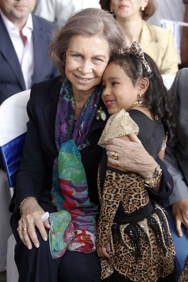 La Reina Sofía de España visitará la sede del Ministerio Público de Guatemala, durante su visita oficial a Guatemala  Martes, 18 de marzo 2014  Guatemala
