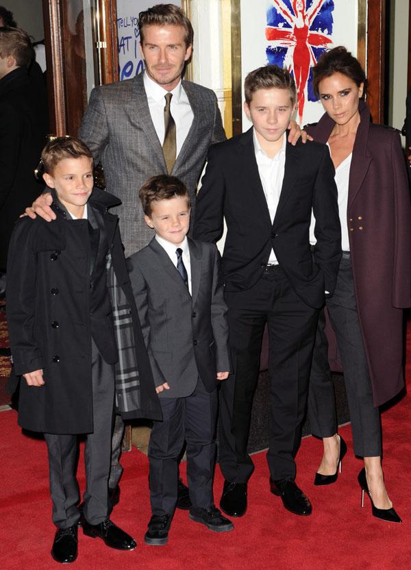 Romeo-Beckham-familia
