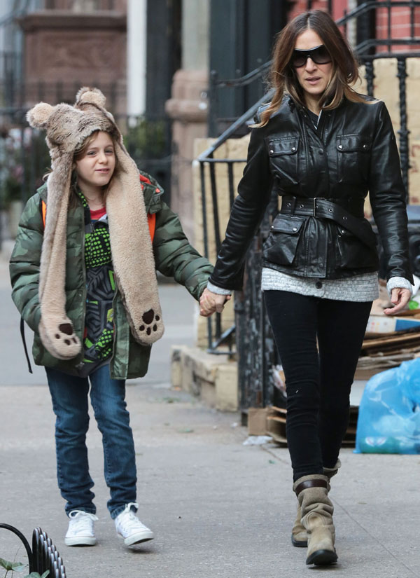 Sarah Jessica Parker con hijo James