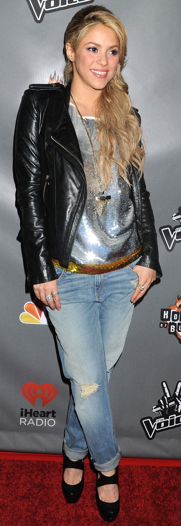 Shakira en West Hollywood