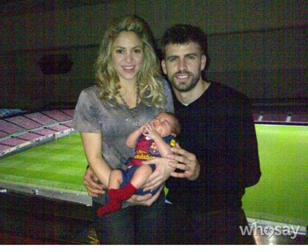 Shakira-Pique Milan Nou Camp