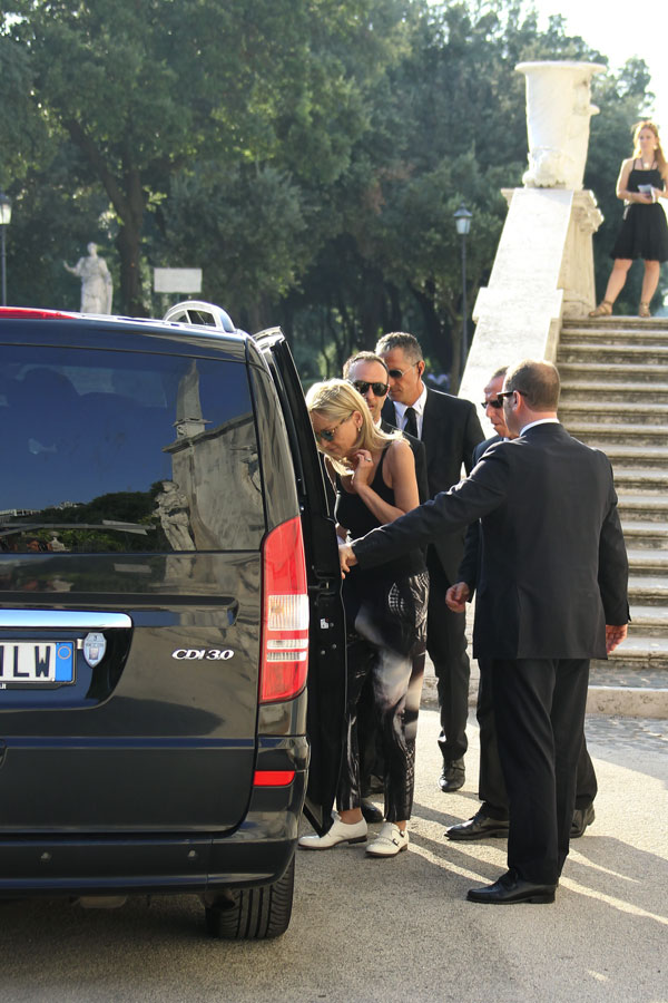 Sharon-Stone en Roma