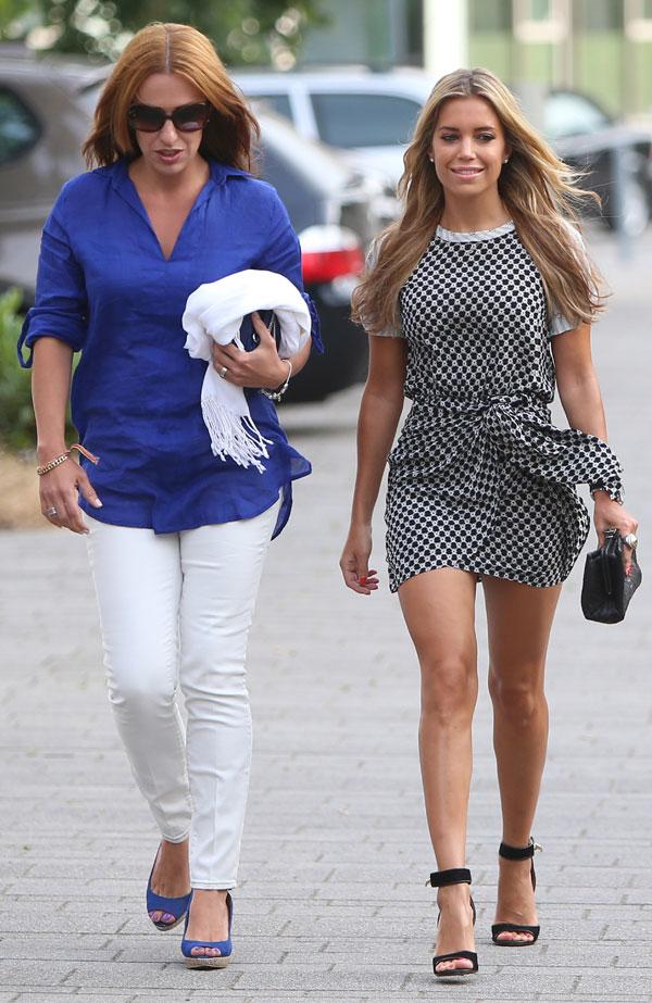 Sylvie van der Vaart con su amigaBetty Moghaddam