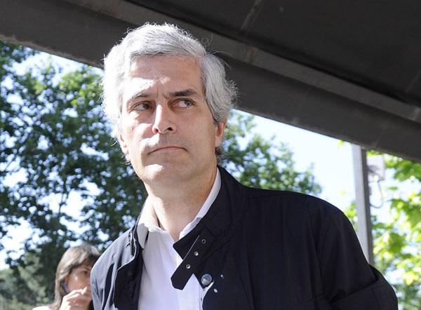 EL POLITICO ADOLFO SUAREZ ILLANA POR LAS CALLES DE MADRID 08/05/2014