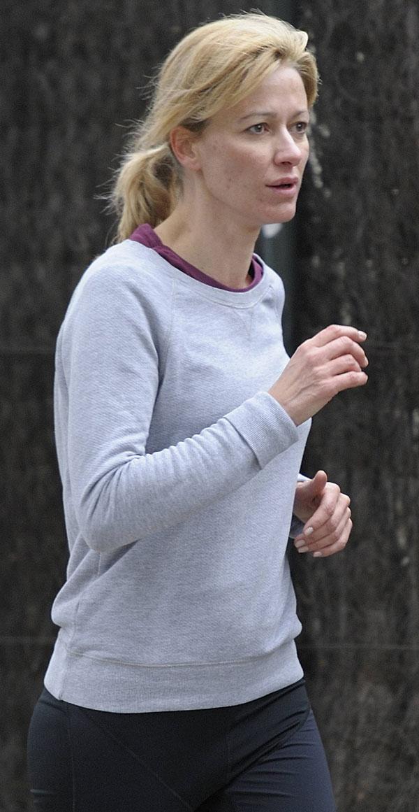 Susanna Griso corriendo