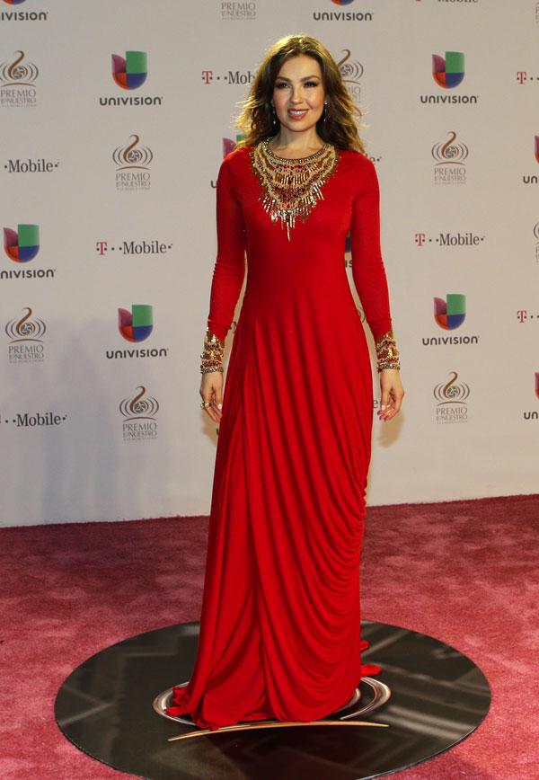 Thalía en los premios Lo Nuestro en Miami