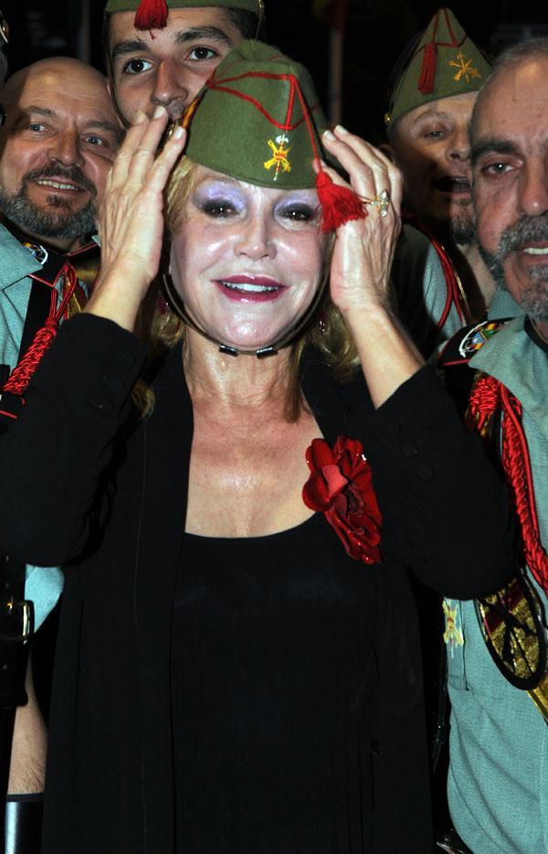 Tita Thyssen en la gala Premios Cofrades de Marbella