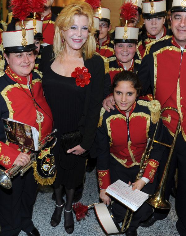 Tita Thyssen en la gala de los Premios Cofrades de Marbella