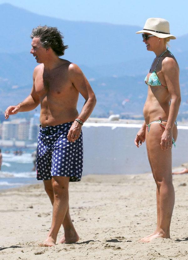 Valeria Mazza y Alejandro Gravier en Marbella