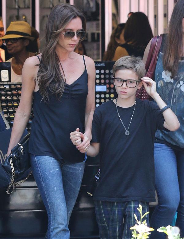 Victoria-Beckham familia