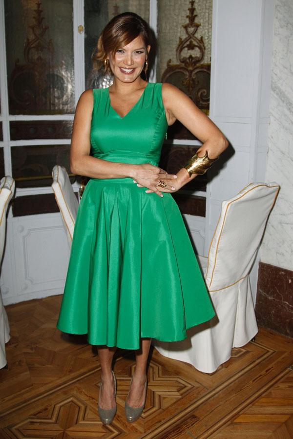 Yvonne Reyes en los premios Telva de Belleza ayer en Madrid