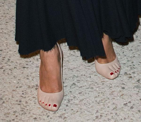 Zapatos-de carolina de Mónaco