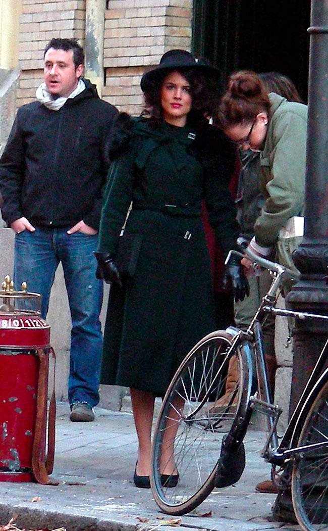Adriana Ugarte interpretó el papel de Sira Quiroga en 'El tiempo entre costuras'.