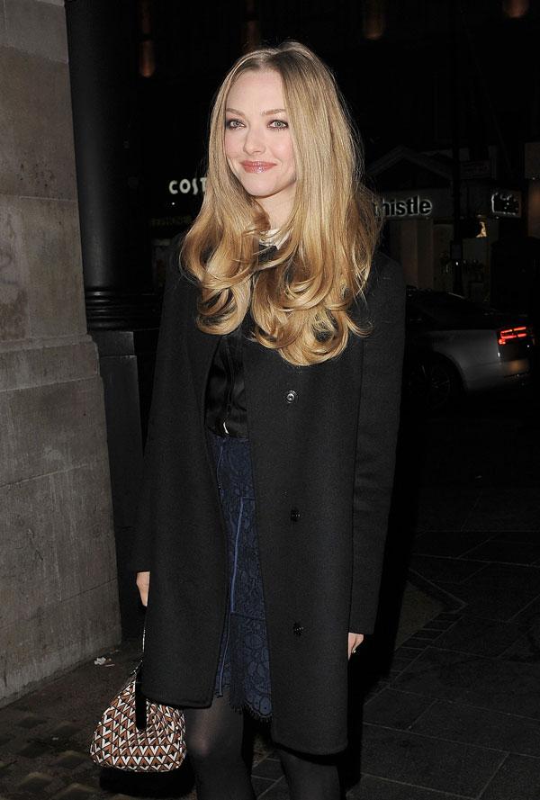 Amanda Seyfried en el estreno de Los Miserables