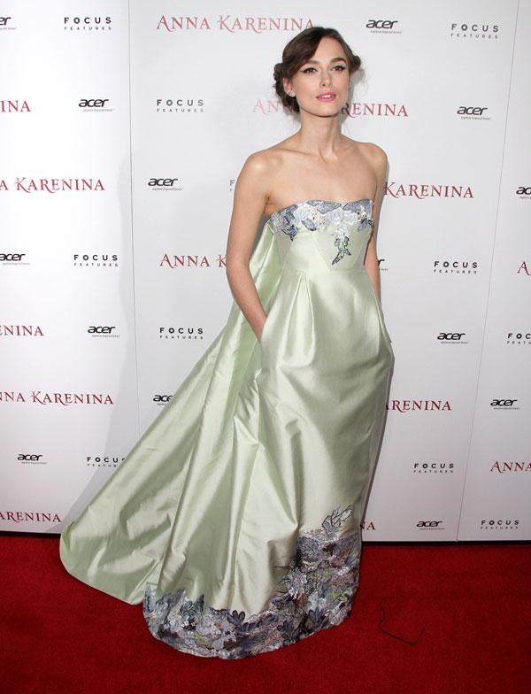 Keira Knightley deslumbra como Anna Karenina
