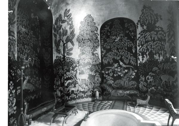 Baño art déco de Albert Rateau de la duquesa de Alba