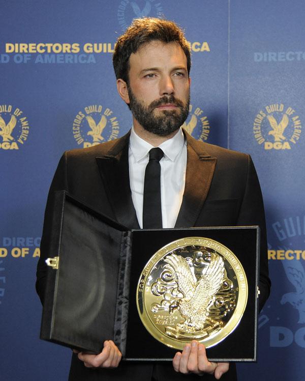 Ben affleck ganó el premio del Sindicato de Actores por Argo