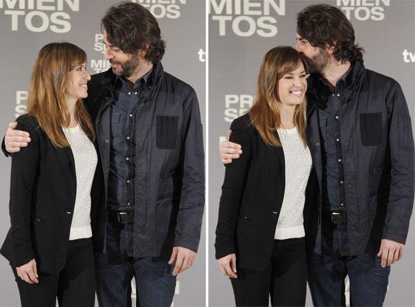 Eduardo Noriega y Marta Etura estreno Presentimientos