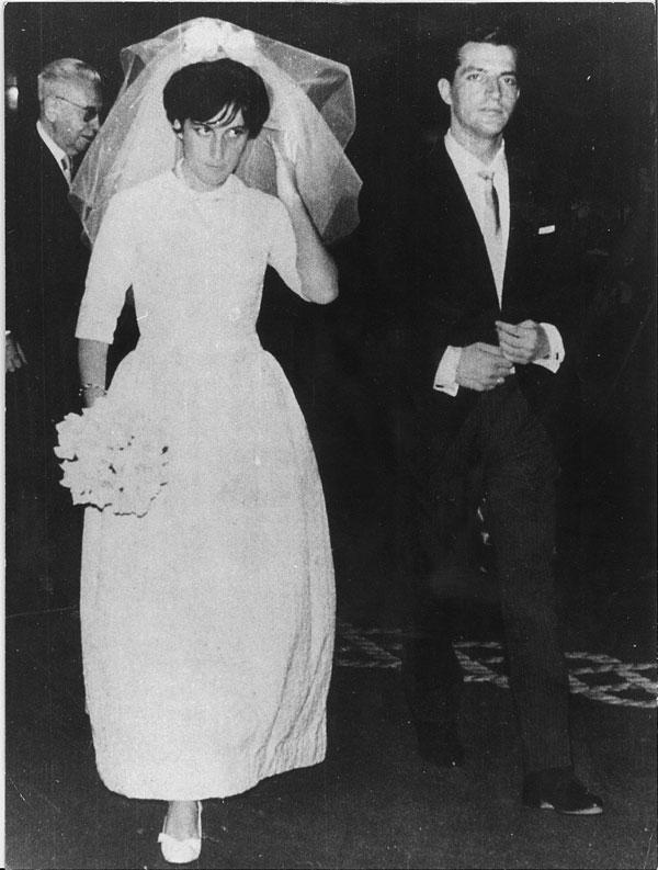 Su boda con Amparo Illana