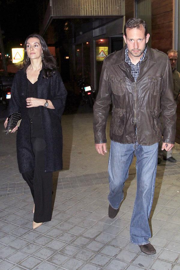 Bruno Gómez-Acebo y Bárbara Cano