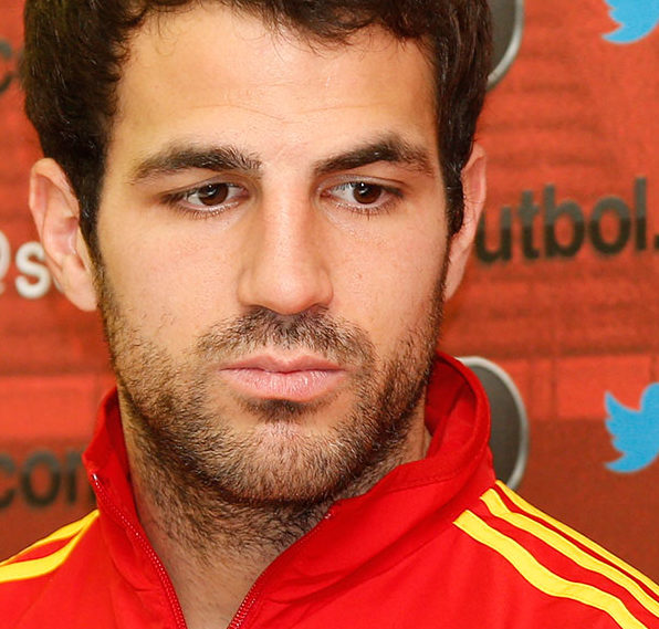 Cesc Fabregas during press conference Spanish Selection and Presentation of the new web page www.sefutbol.com. in the City of Madrid Soccer. 19.03.2013, Ciudad: Madrid