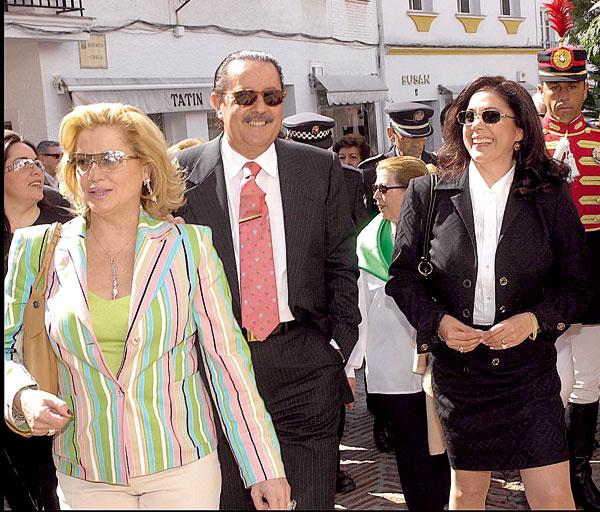 Mayte Zaldívar, Julián Muñoz e Isabel Pantoja