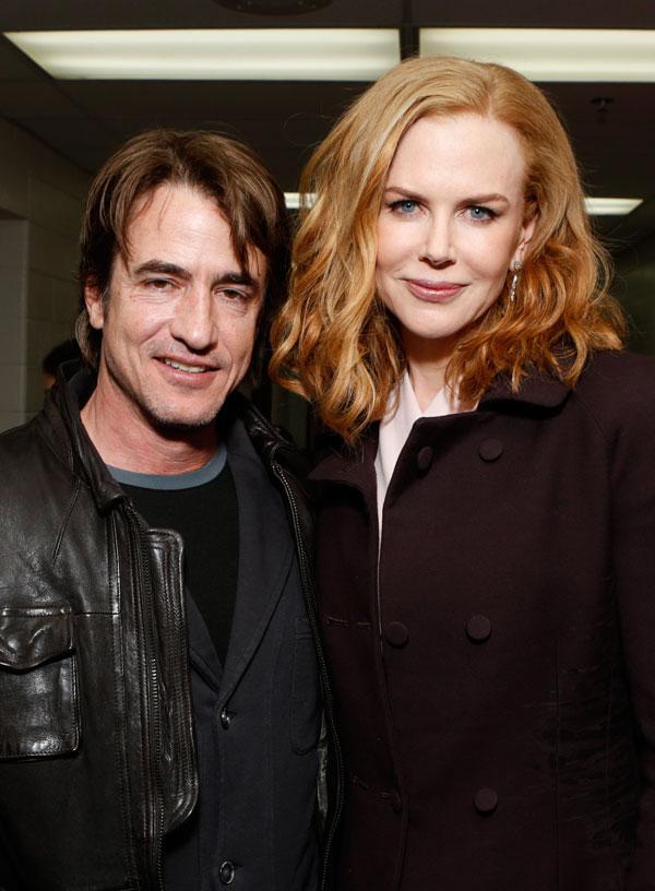 Nicole Kidman, con su compañero de reparto